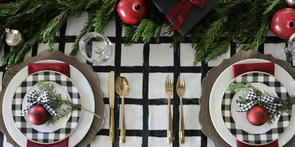 Un Diseño De Ensueño 5 Mesas Decoradas Para Navidad