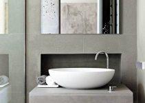 Fregaderos de baño decorados con encanto y personalidad