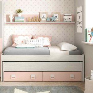 catalogo para comprar cama nido rosa 1