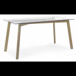 la mejor lista de mesa cristal blanco para comprar on line 2