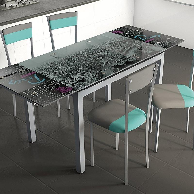 ▷ Opiniones de mesa cristal cocina para Comprar On-line ...