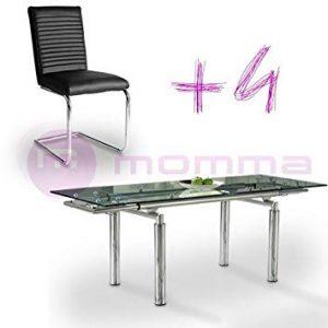 opiniones y reviews de mesa extensible con sillas para comprar on line 1