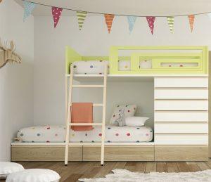 seleccion de litera para habitacion pequena para comprar online