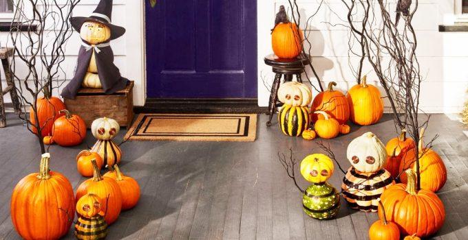 Decoración casera Halloween