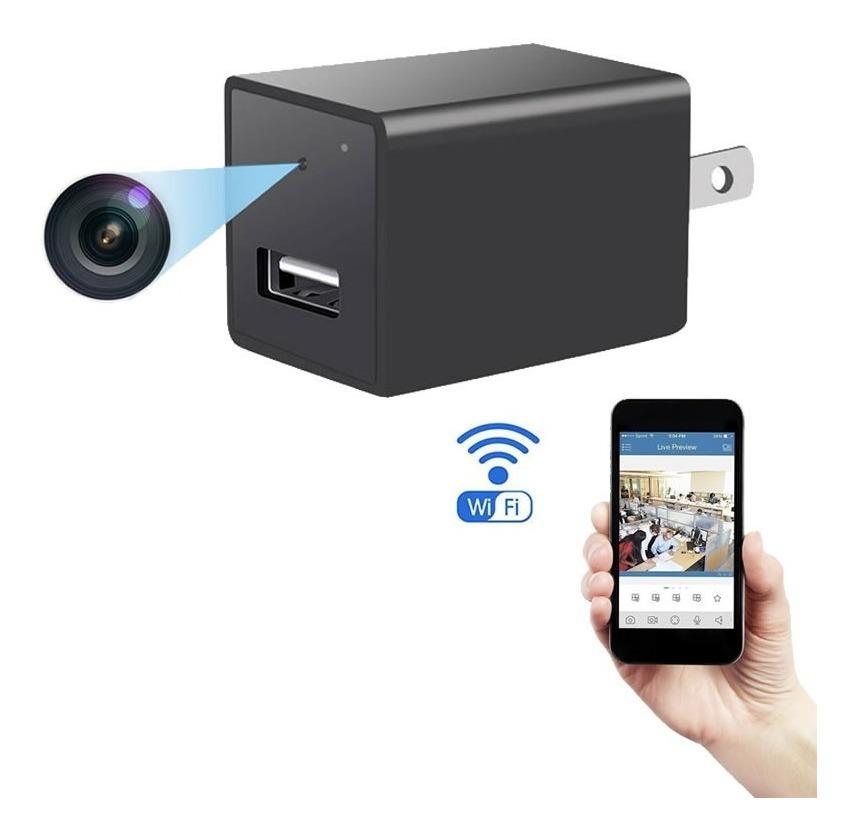 Qulista U Disco Oculto Esp/ía Agujero de c/ámara Detector de Movimiento Grabador de Video C/ámaras esp/ía